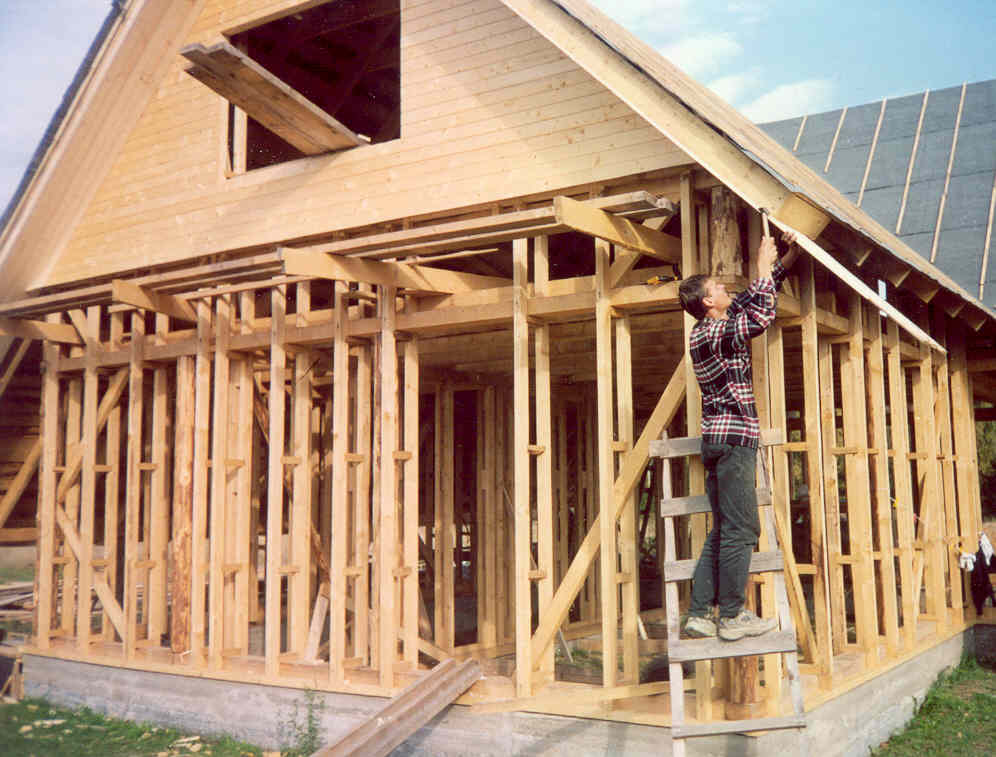 Строительства каркасного дома-технология