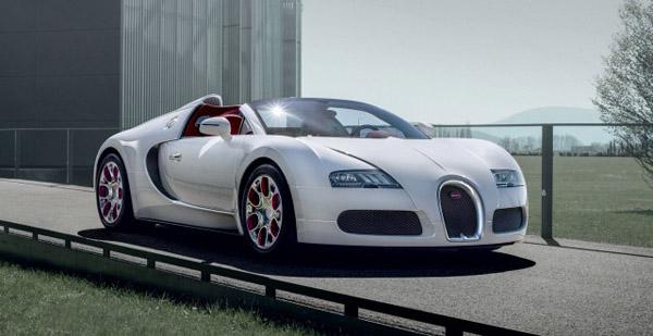 Bugatti выпустила единичную модель Veyron Grand Sport для китайского рынка