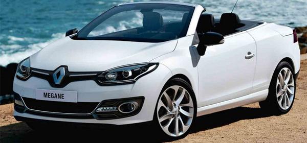 Renault обновил Megane в кузове кабриолет