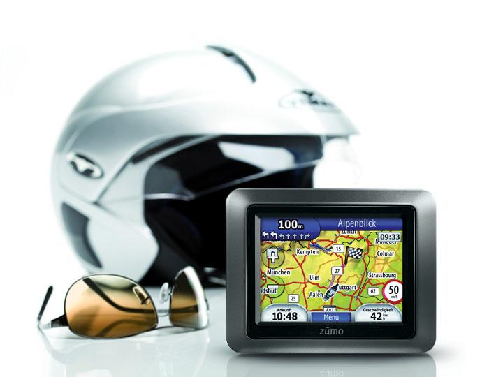 Навигаторы для мотоциклов серии Garmin zumo